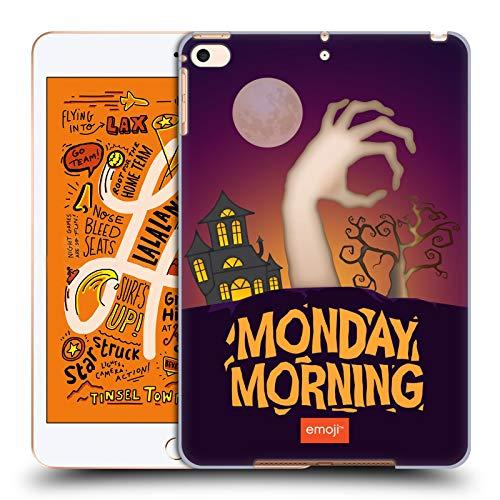 Head Case Designs Offizielle Emoji® Montagmorgen Halloween Parodien Harte Rueckseiten Huelle kompatibel mit iPad Mini (2019)