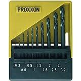 Proxxon 28874Jeu de forets (Perceuse, Jeu de forets, 3,2mm, métal non Ferroso, acier inoxydable, acier de haute vitesse (HSS), noir)