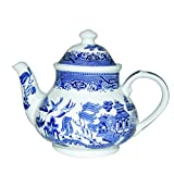 Churchill sauce Blu georgiano tetera 1200ml, cerámica, multicolor, 21x 18x 18cm