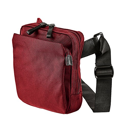 Jost Messenger Bag with zip S Soho Red [005] Rosso Rosso