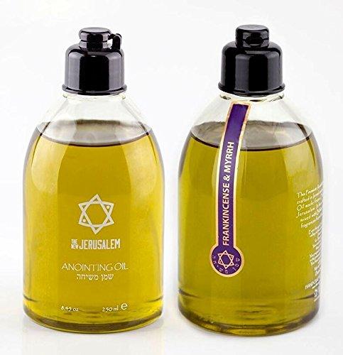 Aceite para unción  Olíbano y mirra fragancia 250ml.