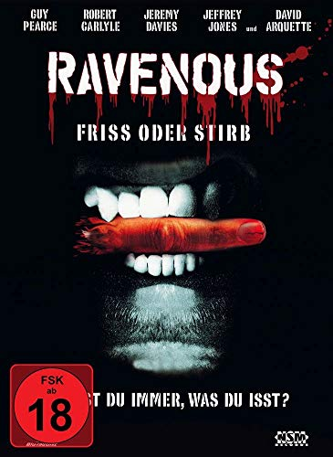 Ravenous - uncut (Blu-Ray+DVD) auf 500 limitiertes Mediabook Cover A [Limited Collector's Edition]