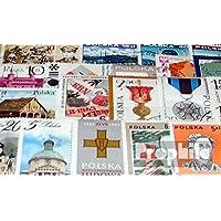 sellos para coleccionistas: Polonia 50 diferentes sellos especiales