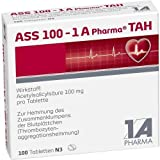 ASS 100 mg TAH 1A-Pharma Tabletten, 100 St.