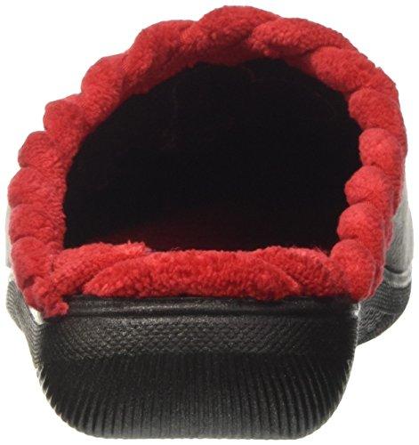 INBLU Bq000127, Pantofole Aperte sulla Caviglia Donna Grigio