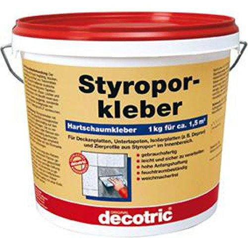 Preisvergleich Produktbild Styroporkleber 1 kg gebrauchsfertig decotric