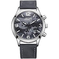 YPS Men Camouflage Dial Fashion Quartz Multifunction Sub Dials Calendar Wristwatch WTH5348