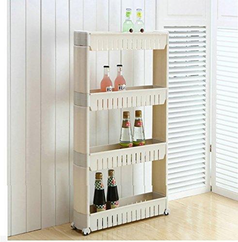 lagefach aus Kunststoff, Badaufbewahrungsorganisator, Küchenablage, Zwischenablage (Color : D) ()