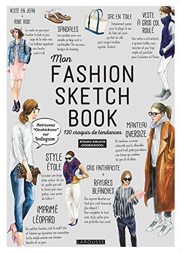 Mon fashion sketch book par Atsuko Kikuchi