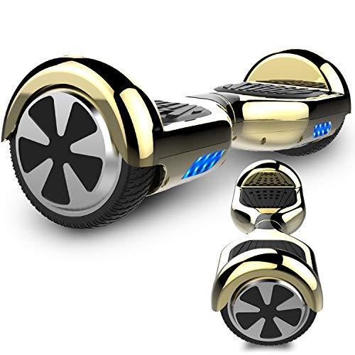 RCB Hoverboard Scooter elettrico auto bilanciamento 6.5\'\' intelligente per adulti Bambini-UL2272 Certificato di sicurezza con luci LED Motore 2 * 350W
