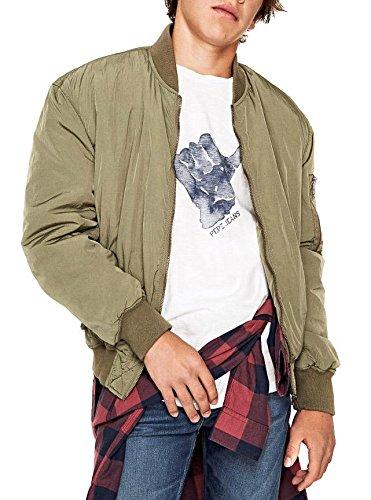 Pepe Jeans Boys Jacke (Bomberjacke) Royce Teen, Fb. kaki (Gr. 14/164)