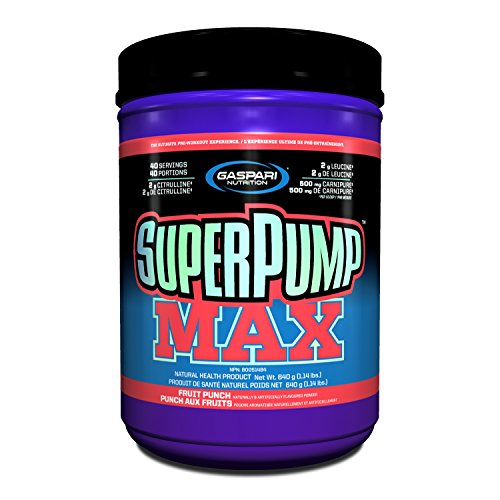 gaspari Nutrition Super Pump 250 - 640 g (Fruit Punch)  available at amazon for Rs.4765