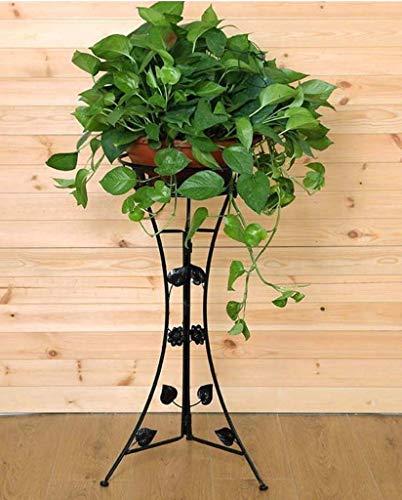 NMDD Blumenrahmen Boden Mehrschichtiger Blumentopf aus Eisen Einfacher europäischer Stil Grüne Lerche Orchideen Blumenständer Gartenarbeit Hängeplanierkörbe (Farbe: A)