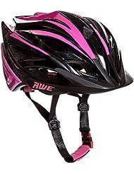 AWE® Awebladetm Gratuit 5 an Crash de Remplacement * en Moule pour Filles Casque de vélo 52-56 cm Rose/Noir