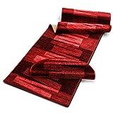 Stufenmatten mit Pinselstrich Muster