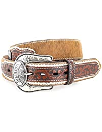 Jack Daniels belt 1272JD Brown Cow Hide Leather Belt Belt