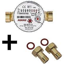 Ferro – Contador de agua caliente para casa y jardín 4 ...