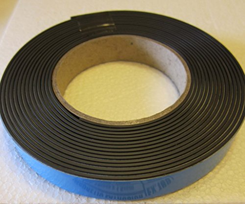 Great Buy for Supa-Mag Magnetic Tape, Magnetised Mating with Foam Adhesive and UV Coating on the magnetic face. 19.0mm wide x 1.5mm thick magnet plus 1mm foam. Pull strength 115±5 g/cm length. Box of 5 x 30m rolls Reviews