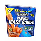 Muscletech Premium Series 100% Premium Mass Gainer - 5,44 kg Chocolate - 51XqngV LZL. SS166
