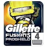 Gillette Fusion5 ProShield Lames De Rasoir Pour Homme 4Recharges