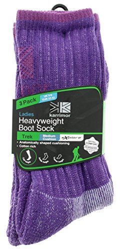 Karrimor Heavy Weight Boot So Socks Purple - Purple
