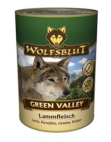 Wolfsblut Dose Green Valley   6x800g - Hundefutter Wolfsblut Valley Green
