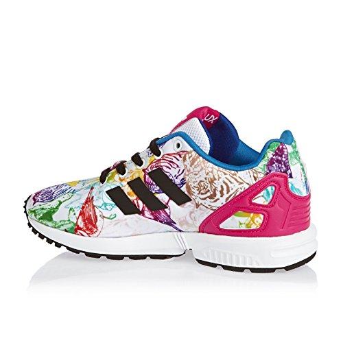 adidas Zx Flux W, Baskets Basses Femme Multicolore