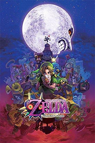 Empire Merchandising 687 661 The Legend of Zelda Maschera di Majora serie di videogiochi Azione Avventura LoZ Maxi poster stampa formato 61 x 91.5