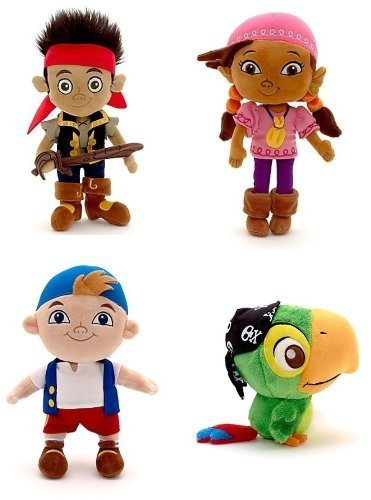 8 Cubby (Disney Store Disney Junior Jr. Jake and The Never Land/Neverland Pirates Plush Stuffed Doll Toy Gift Set Including 12 Jake, 12 Izzy, 12 Cubby and 8 Skully by Disney Interactive Studios)