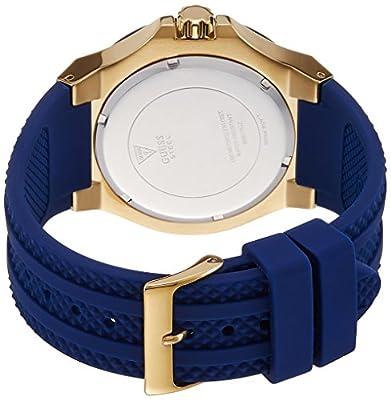Guess W0674G2 - Reloj de pulsera hombre, Silicona, color Azul de Guess