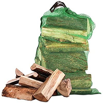 10KG of Tigerbox® High Quality Kiln Dried Ash Wooden Logs. Excellent Coal Alternative Fuel for Hotter Burning Fires. Maximum Moisture 20% & 100% Sustainable.