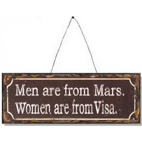 men-are-from-mars-women-are-from-visa-metal-sign