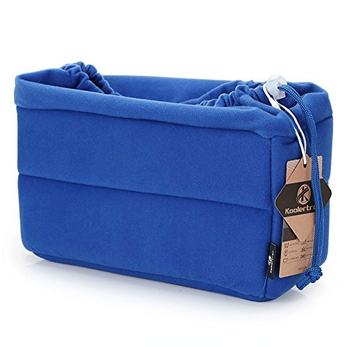 Koolertron Custodia Borsa Cover Case Protettivo per Fotocamera Camera DSLR SLR SONY Canon Nikon Flash Light (Blu)