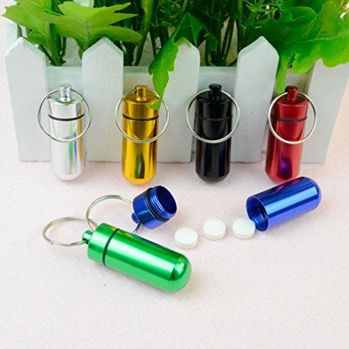Schlüsselanhänger Pille Inhaber | Pille Box mit Schlüsselring von Home Care Wholesale® DE