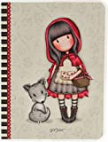 "Gorjuss, quaderno A6, copertina satinata, motivo ""Little Red Riding Hood"""