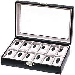 Davidt's Uhrenkoffer schwarz 702066