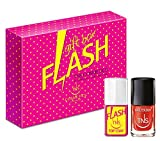 TNS COSMETICS Cofanetto Flash Top Coat e smalto Love Power 10 ml - 2 pz immagine