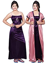 9c66b54931 Amazon.in  Satin - Lingerie   Nightwear   Women  Clothing   Accessories