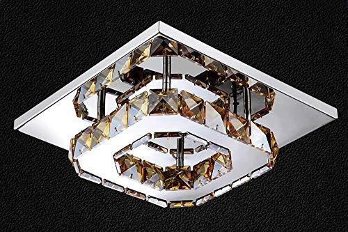 Plafoniere Grandi Led A Soffitto Moderno : Plafoniera led quadrata contemporanea grandi sconti lampadari