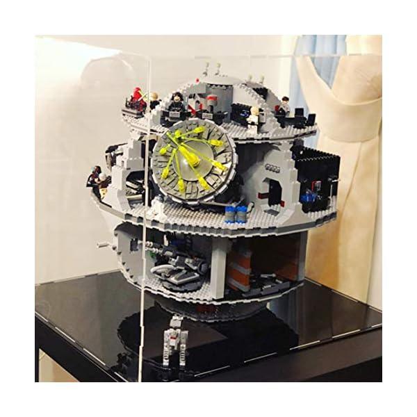 DXX Acrilico Vetrina Acrylic Display Case Scatola di Acrilico Trasparente per Lego 75159 - Star Wars Morte Nera (Nessun… 3 spesavip
