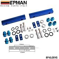 epman per Subaru WRX STI EJ20ej20t sti in alluminio billet Top feed carburante iniettore Rail Kit Turbo Blu Alta Qualità ep-ej20yg