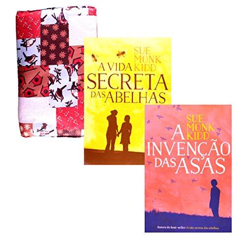 A Invenção das Asas + A Vida Secreta das Abelhas + Bolsa Porta-Livro (Em Portuguese do Brasil)
