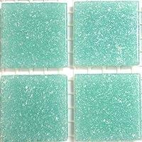 Vitreous Glass Mosaic Tiles 20mm Pistachio Green
