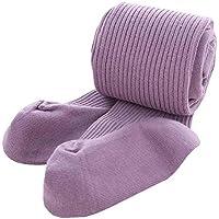 Púrpura Invierno Medias ajustadas Niños Niñas calcetines de algodón suave Pantyhose