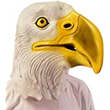 Máscara águila Antifaz aguileño Careta aquilino Mascarilla buitre Cubre rostro carnaval animal heráldico Máscara pájaro