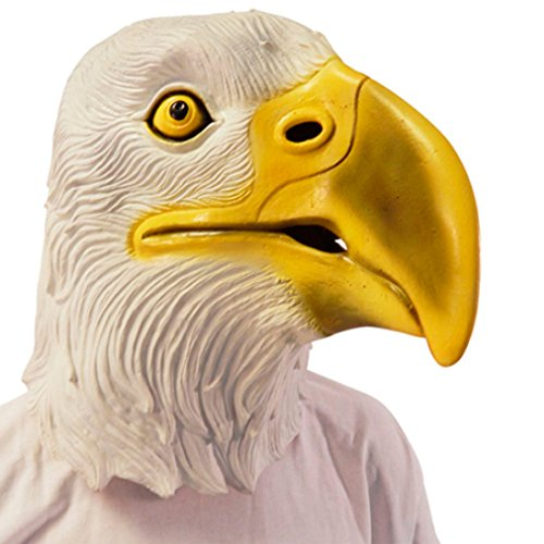 Amakando Antifaz aguileño Máscara águila Mascarilla Buitre Máscara pájaro Careta aquilino Cubre Rostro Carnaval Animal heráldico