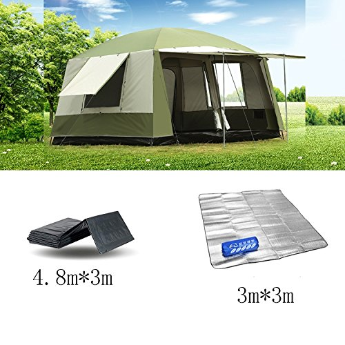 QFFL zhangpeng Zelt warm und Winddicht Regen Zelt 6-12 Personen aus dem Boden Zelt Angeln Zelt Zelt Pergola Tunnelzelte (Farbe : C)