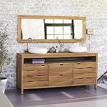 Amazon.fr : meuble teck salle bain - Tikamoon