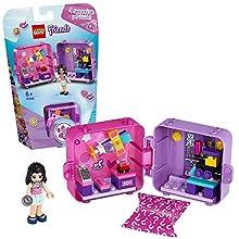 LEGO- Friends Il Cubo dello Shopping di Emma con Una Sorpresa Segreta Set con Mini Doll Collezionabile, per Bambini +6 Anni, 41409