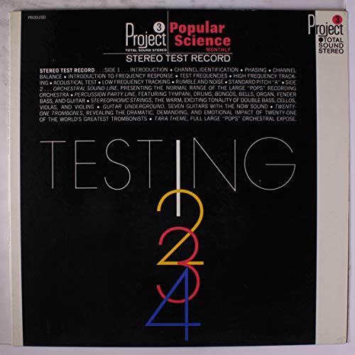 stereo test record, testing 1-2-3-4 LP Enoch Light